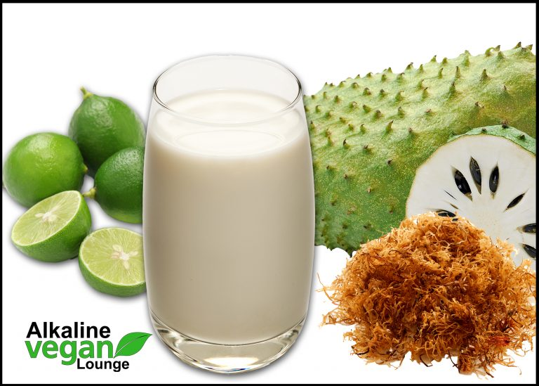 how to make soursop juice recipe with key lime or sea moss