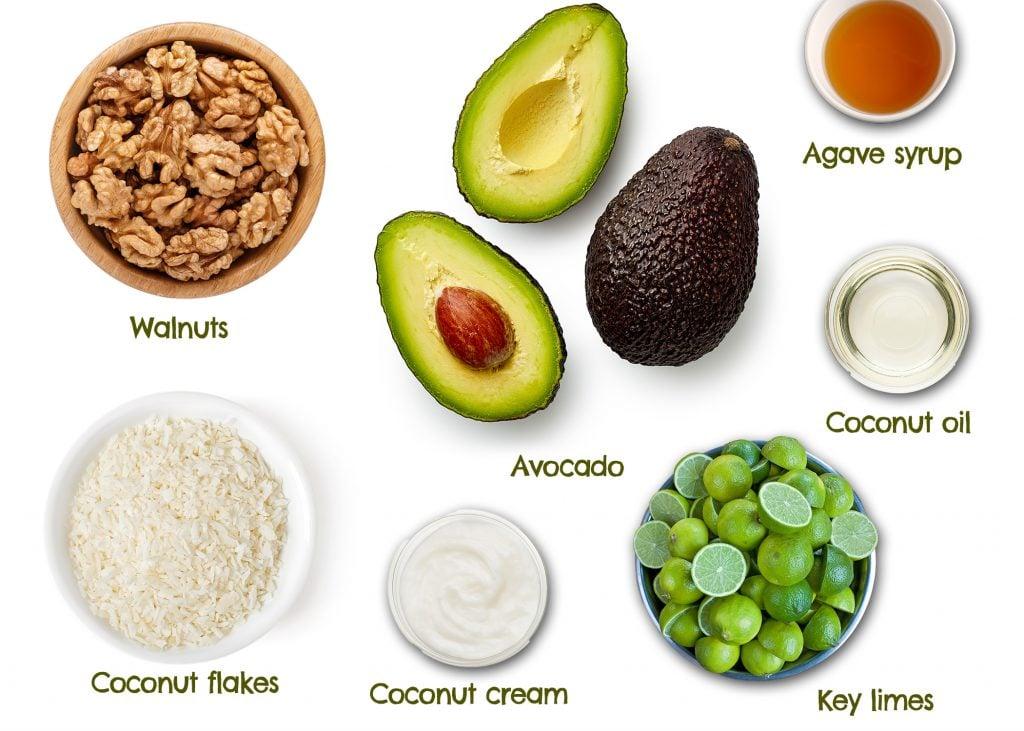 vegan plant based key lime pie