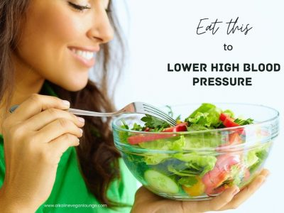 Dr. Sebi food list to lower high blood pressure