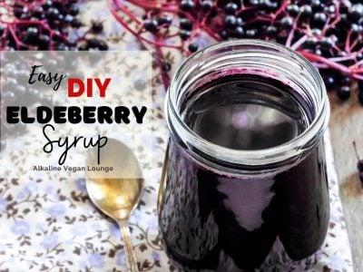 Benefits of Elderberry syrup