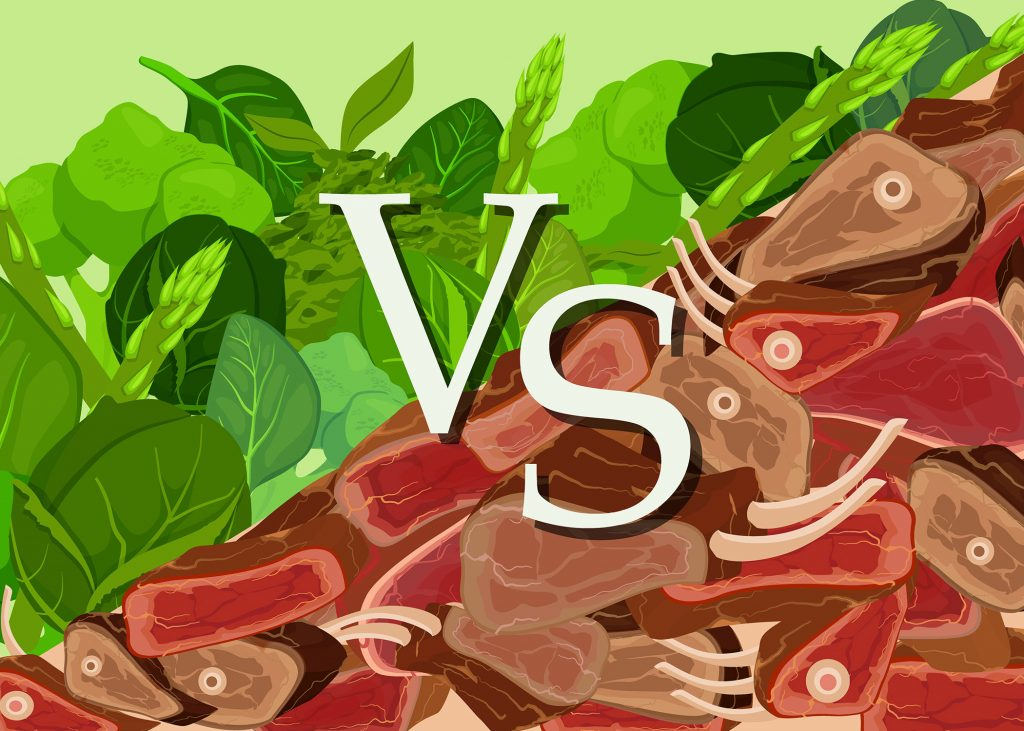 difference between a vegan and a vegetarian