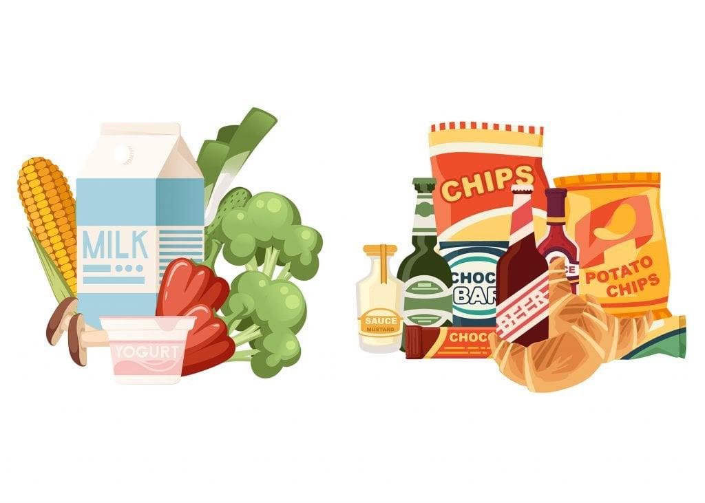 packaged vegan foods
