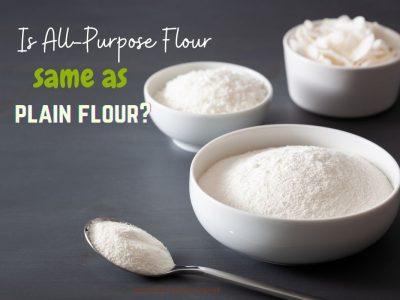 All purpose flour vs wheat flour